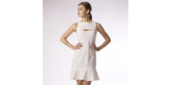 Dámske biele šaty Emploi