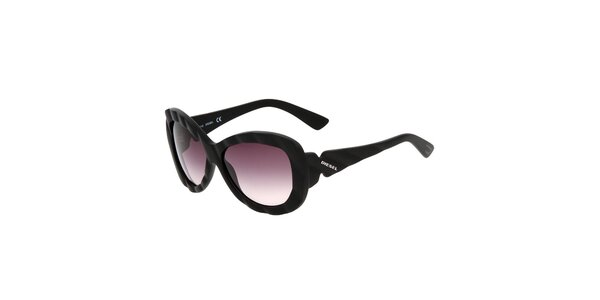 Dámske čierne slnečné okuliare Diesel