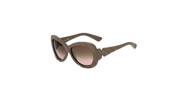 Dámske béžové slnečné okuliare Diesel