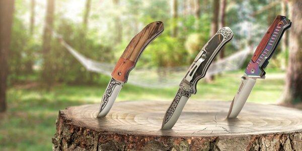 Krásne a praktické vreckové nože