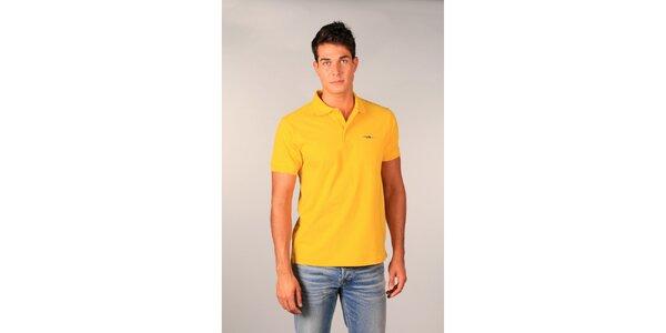 Pánske žlté polo tričko TH