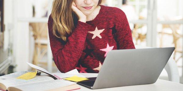 Online kurzy angličtiny s certifikátom