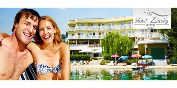 Luxusný pobyt pre DVOCH v Hoteli Zátoka*** Senec