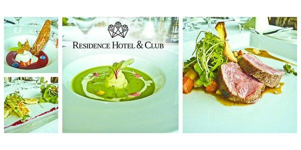Degustačné menu v hoteli Residence****