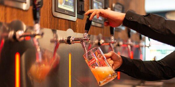 Vyskúšajte kartu BeerBox na čapované pivo a biliard
