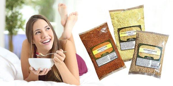 Zdravé lahodné kaše na raňajky či desiatu