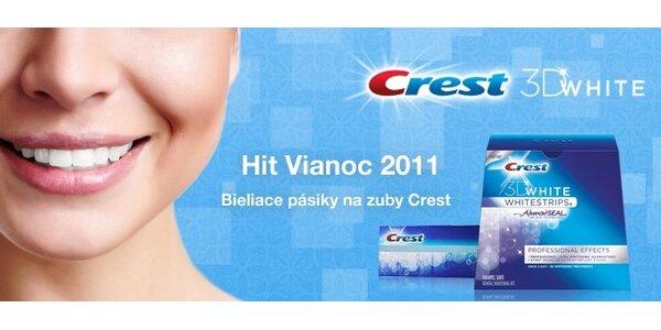 39,99 eur za bieliace pásiky Crest na zuby domáce použitie