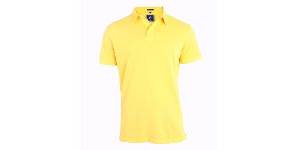 Pánske žlté polo tričko Pietro Filipi