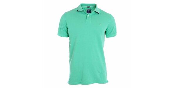 Pánske tyrkysovo modré polo tričko Pietro Filipi