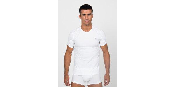 Pánske biele podvliekacie tričko Roberto Cavalli