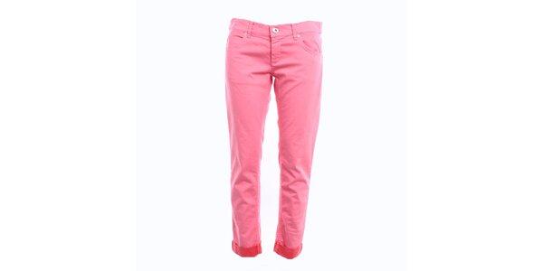Dámske ružové džínsy Pietro Filipi