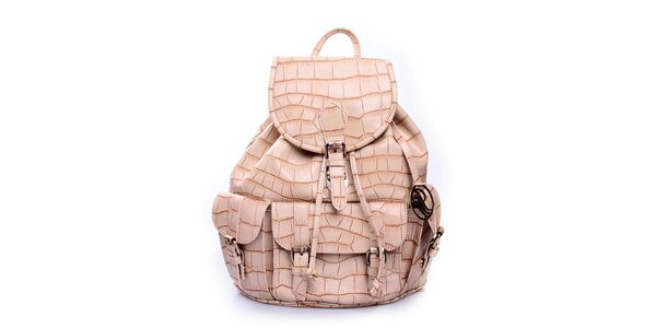 Dámsky béžový ruksak Pietro Filipi