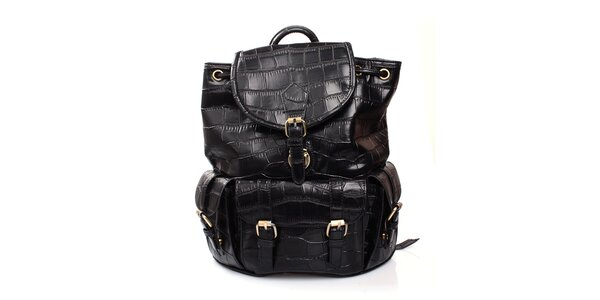 Dámsky čierny ruksak Pietro Filipi