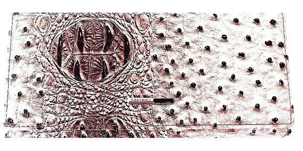 Luxusné peňaženky Cossroll rady 5000 s úpravou pštrosia / croco koža! Doprava…