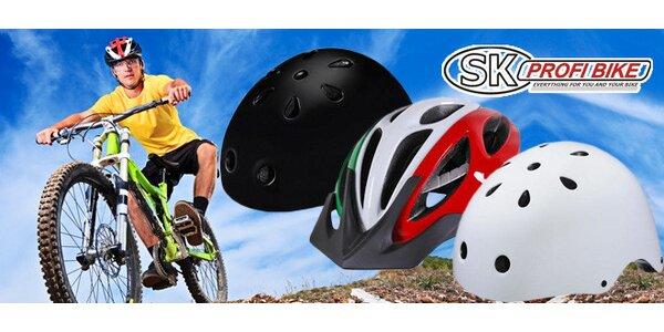Značkové cyklistické prilby