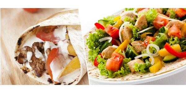 Kebab šalát alebo veľká yufka