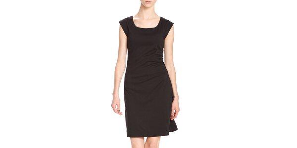 Dámske krátke čierne šaty Yuliya Babich