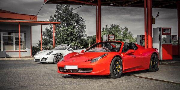 Vzrušujúca jazda na Ferrari, Lamborghini či Porsche!