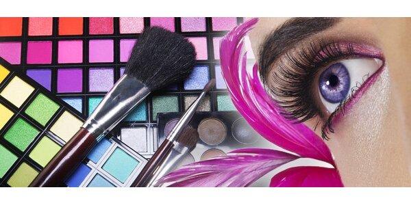 20 eur za profesionálnu paletu očných tieňov (120ks)