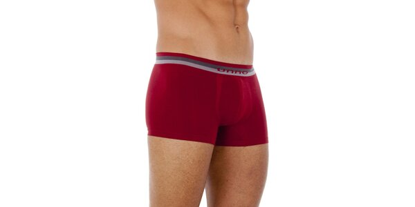 Dvoje pánske červené boxerky Unno