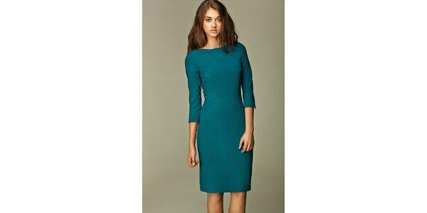 Dámske zelené business šaty Nife