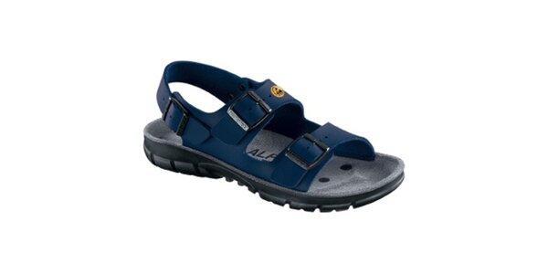 Dámske modré športové sandále Alpro