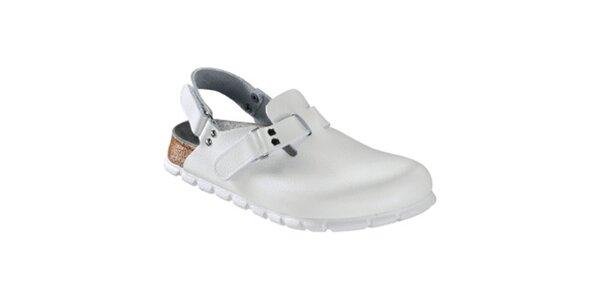 Dámske biele zdravotné sandále Alpro