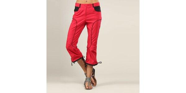 Dámske ružové športové nohavice Coline