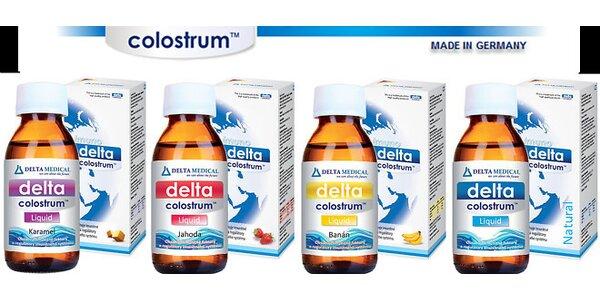 DELTA COLOSTRUM - podporte svoj imunitný systém účinne a prirodzenou cestou