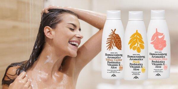 Grécke vegánske sprchové gély pre dámy aj pánov