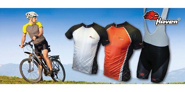 Cyklistické dresy a kraťasy pre mužov