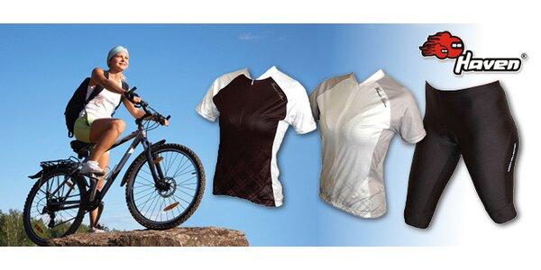 Cyklistické dresy a nohavice pre ženy
