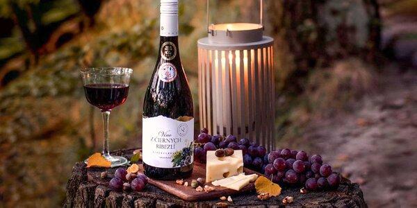 Ovocné vína – ríbezľové, čučoriedkové a višňové