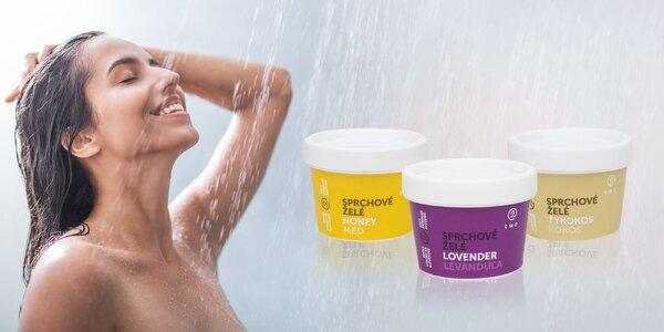 NOVINKA! Sprchové želé – 5 neodolateľných vôní