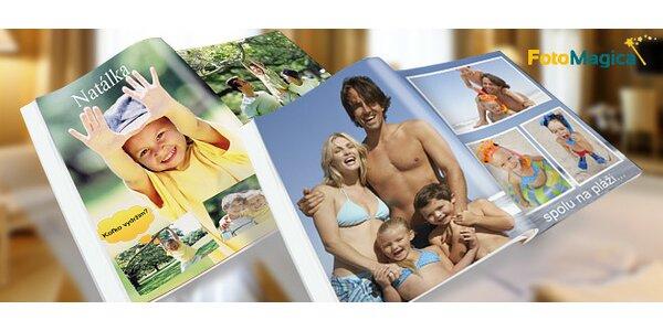 Fotokniha z vlastných fotografií
