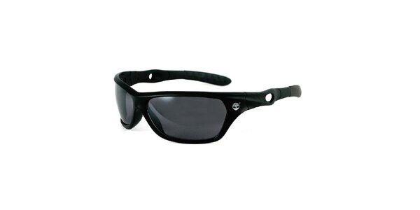 Čierne slnečné okuliare s šedými sklami Timberland