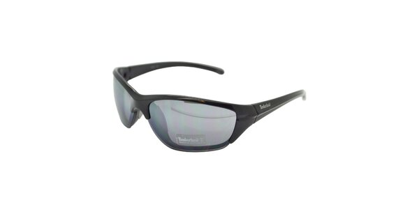 Čierne slnečné okuliare Timberland s modrým zatmavením