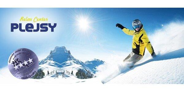9,90 eura za celodenný ski pass do Relax Centra Plejsy