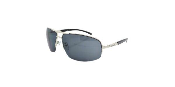 Strieborno-šedé slnečné okuliare Timberland