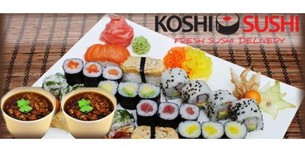 Special Koshi Sushi set pre dvoch na donášku