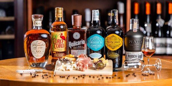 Degustácia rumov so someliérom vo Wine Expert