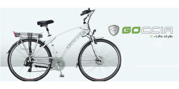 Ekologický elektrický bicykel Goccia