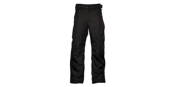Pánske čierne lyžiarske nohavice Loap