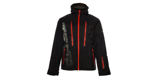Pánska čierna zimná bunda Loap