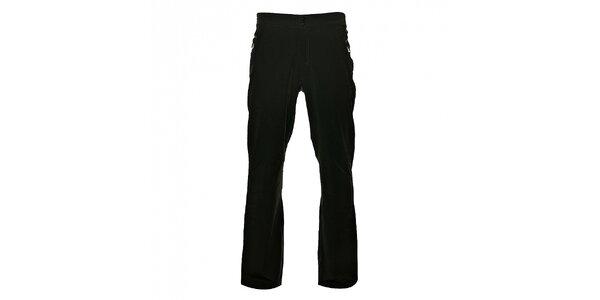 Pánske šedé softshellové nohavice Loap