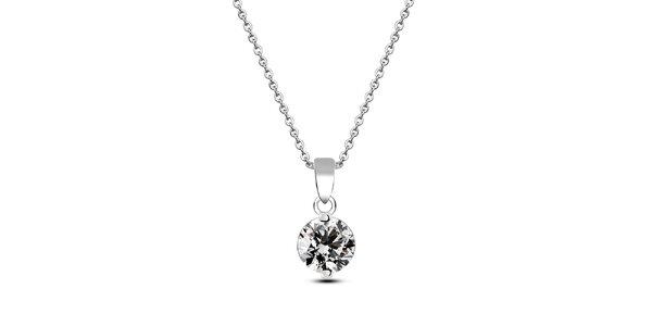Dámsky náhrdelník so zirkónom Giorgio di Mare