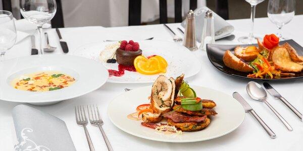 3-chodové menu pre 2 osoby v Hoteli Agatka!
