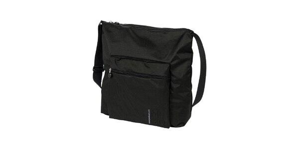 Čierna taška cez rameno Mandarina Duck