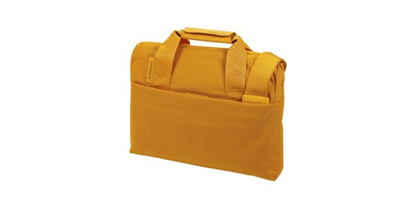 Okrová taška na notebook Mandarina Duck