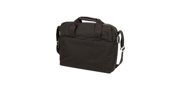 Hnedá taška na notebook Mandarina Duck